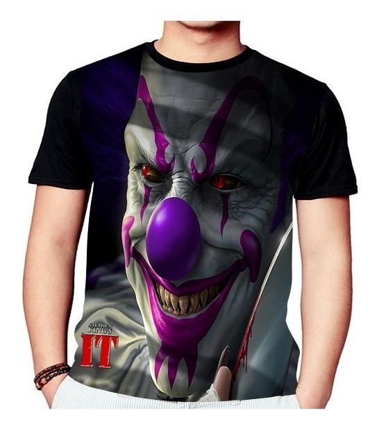 Camisa Camiseta It A Coisa Stephen King Palhaco 157 R 53 99 Em