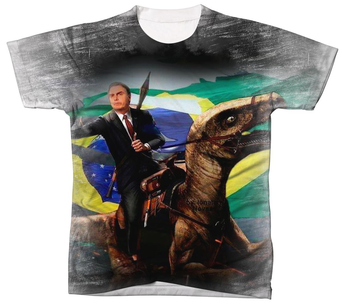 Camisa Camiseta Jair Bolsonaro Mito Presidente Direita 20 - R  40 0a057d458d5a6