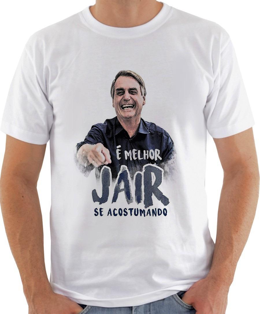 e0a973d89368e camisa camiseta jair bolsonaro presidente em oferta - promo. Carregando zoom .