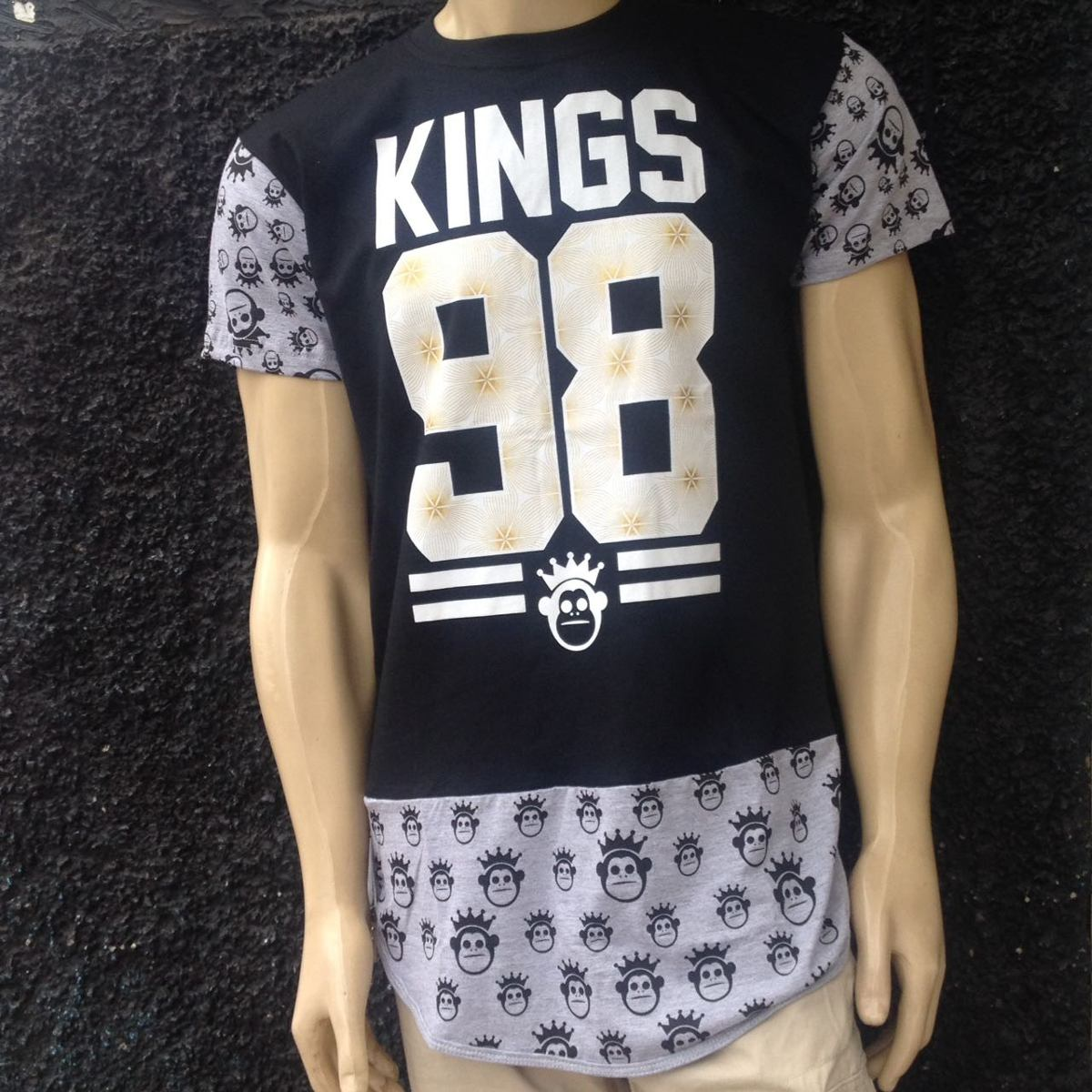 camisa camiseta kings sneakers hip hop swag last kings. Carregando zoom. 99e1e73e2351f