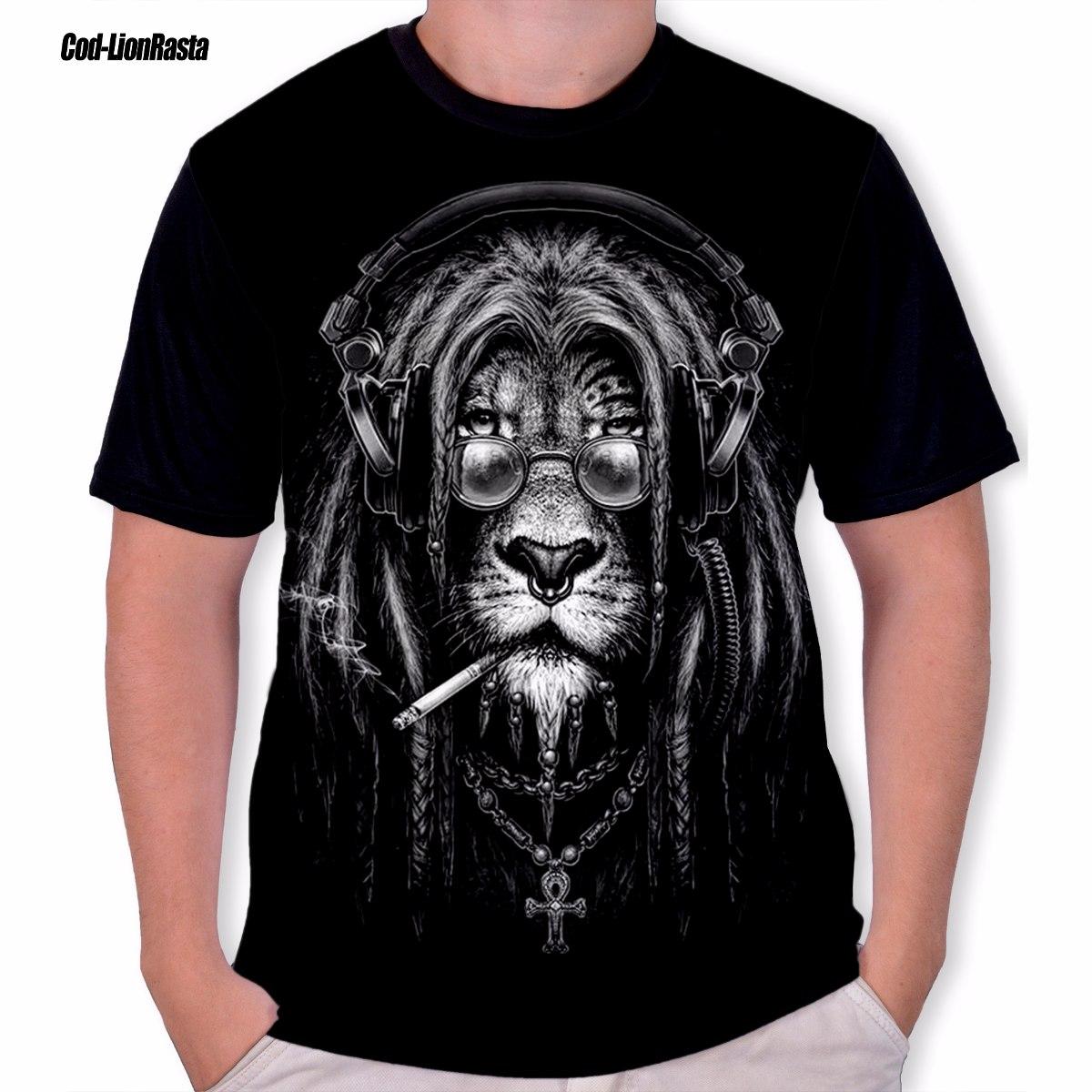 ... camiseta leão rastafári reggae lion rasta. Carregando zoom. d2092c0f8a0