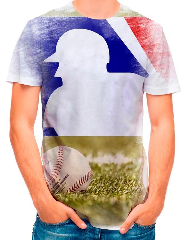 Camisa Camiseta Liga De Beisebol Mlb Major 2556 - R  35 7aabc404839