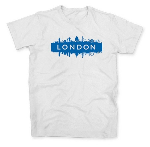 Camisa Camiseta Londres Inglaterra England London City Uk Ir - R  34 ... d6148f085cc9f