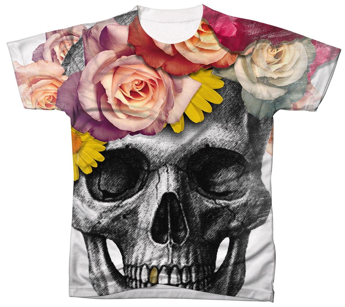 Camisa Camiseta Masculina Caveira Skull Cranio 111 - R  39 b2137b126a2