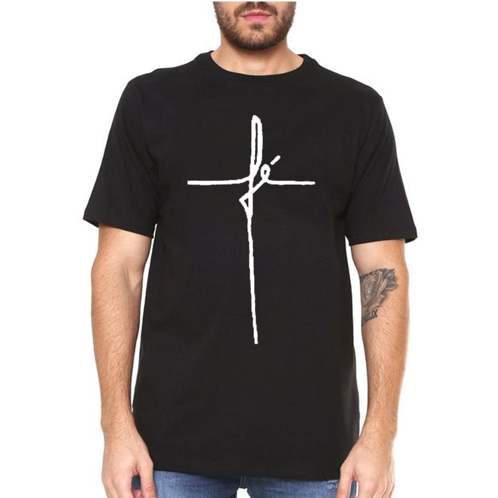 b69169ffc Camisa Camiseta Masculina Fé The Hope Lindo Tumblr Promoção - R  59 ...