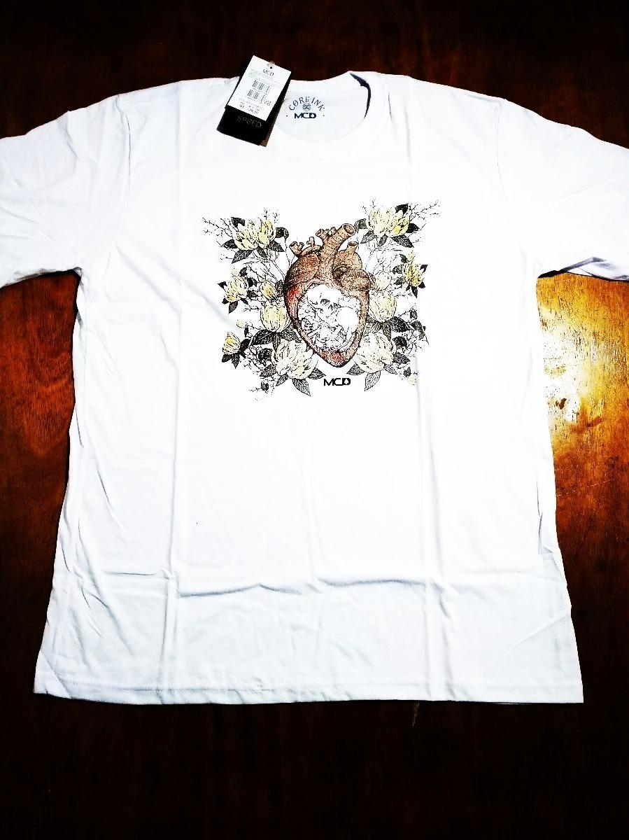 Camisa Camiseta Mcd Surf Branca Masculina .2.3.2 - R  49 d3ca483e3f6
