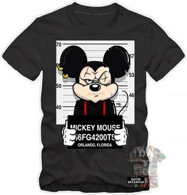 5f167d4c7e Camiseta Mickey Swag - Camisetas Manga Curta para Masculino no Mercado  Livre Brasil