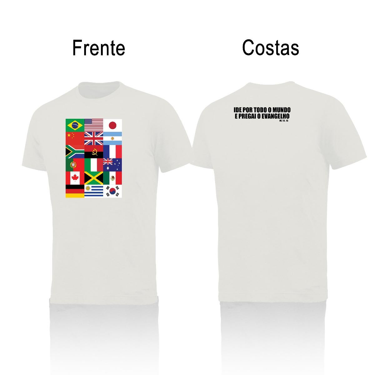 d59bf83d9 Camisa Camiseta Ministério Evangelização Igreja Gospel  0996 - R  59 ...