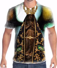 311f324eff2e Camisa Camiseta Nossa Senhora Aparecida Religiosa