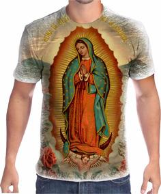 cd7633bccb1b Camisa Camiseta Nossa Senhora De Guadalupe Religiosa