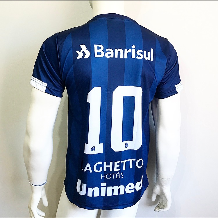 c51979baa2ba4 Camisa Camiseta Nova Gremio 2018 Azul Marinho - R  40