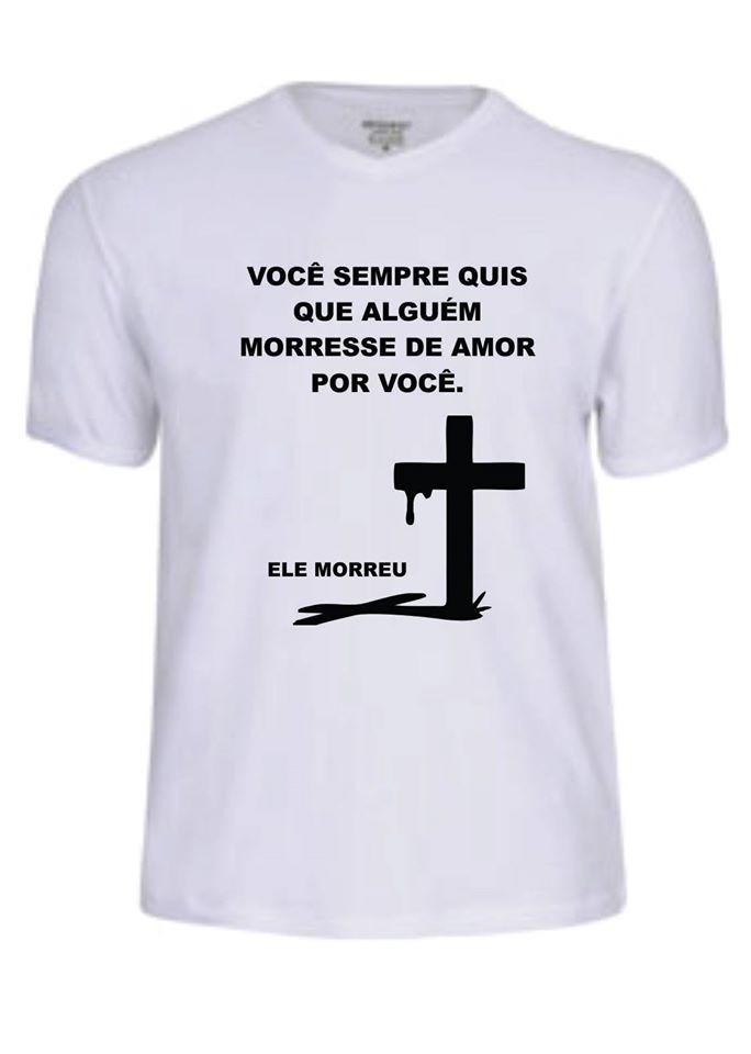 Camisa Camiseta Oração Evangélica Jesus Deus Banda Gospel Fé R 27
