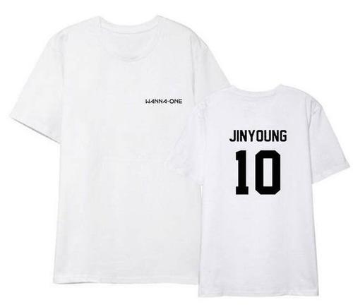 camisa camiseta ou baby look k-pop wanna one jinyoung 10
