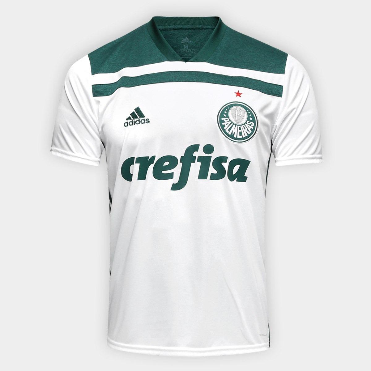 bbacdd15e4 Camisa Camiseta Palmeiras Blusa Away 2018 Frete Gratis - R  120
