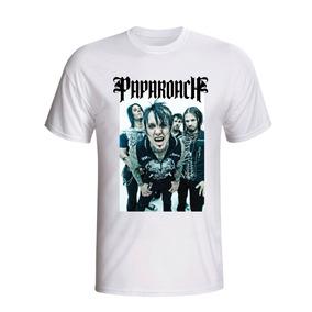 fc41bbd507 Papa Roach Camisa Infest no Mercado Livre Brasil