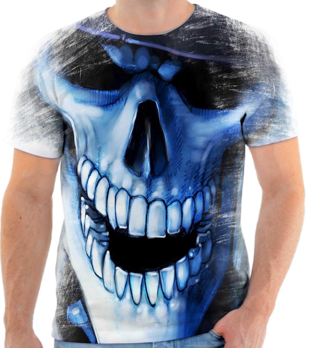 camisa camiseta personalizada caveira chapéu malandra. Carregando zoom. edf707f3755