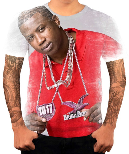 camisa camiseta personalizada gucci mane hip-hop gringo hd5