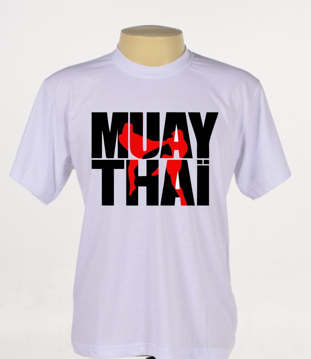 2ca3b99af camisa camiseta personalizada muay thai mma ufc academia. Carregando zoom.