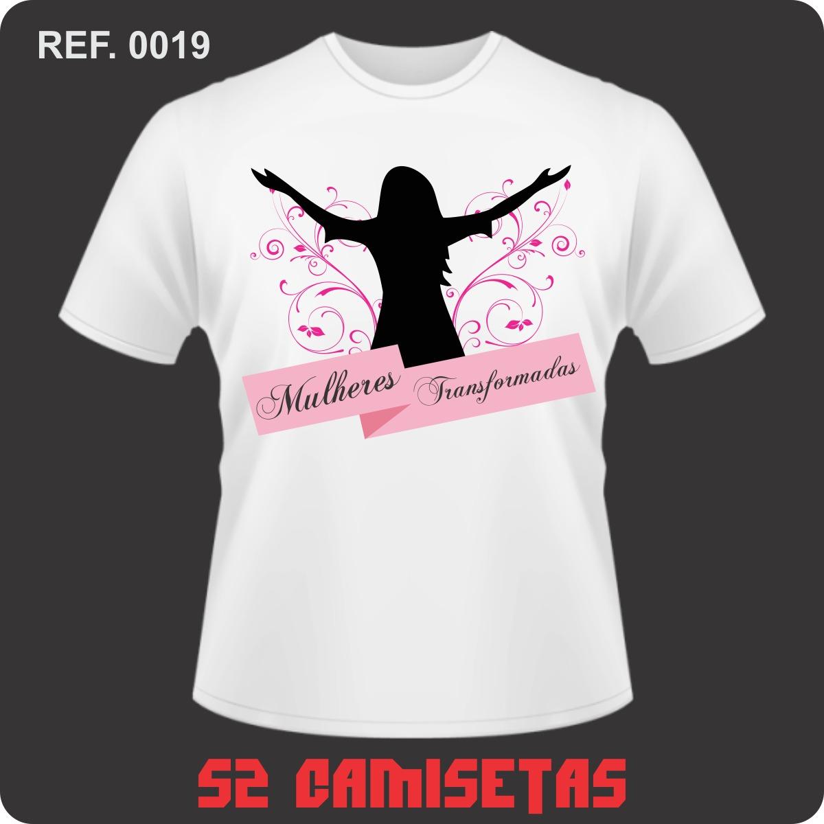 a1b9ff1f3a camisa camiseta personalizada - mulheres transformadas. Carregando zoom.