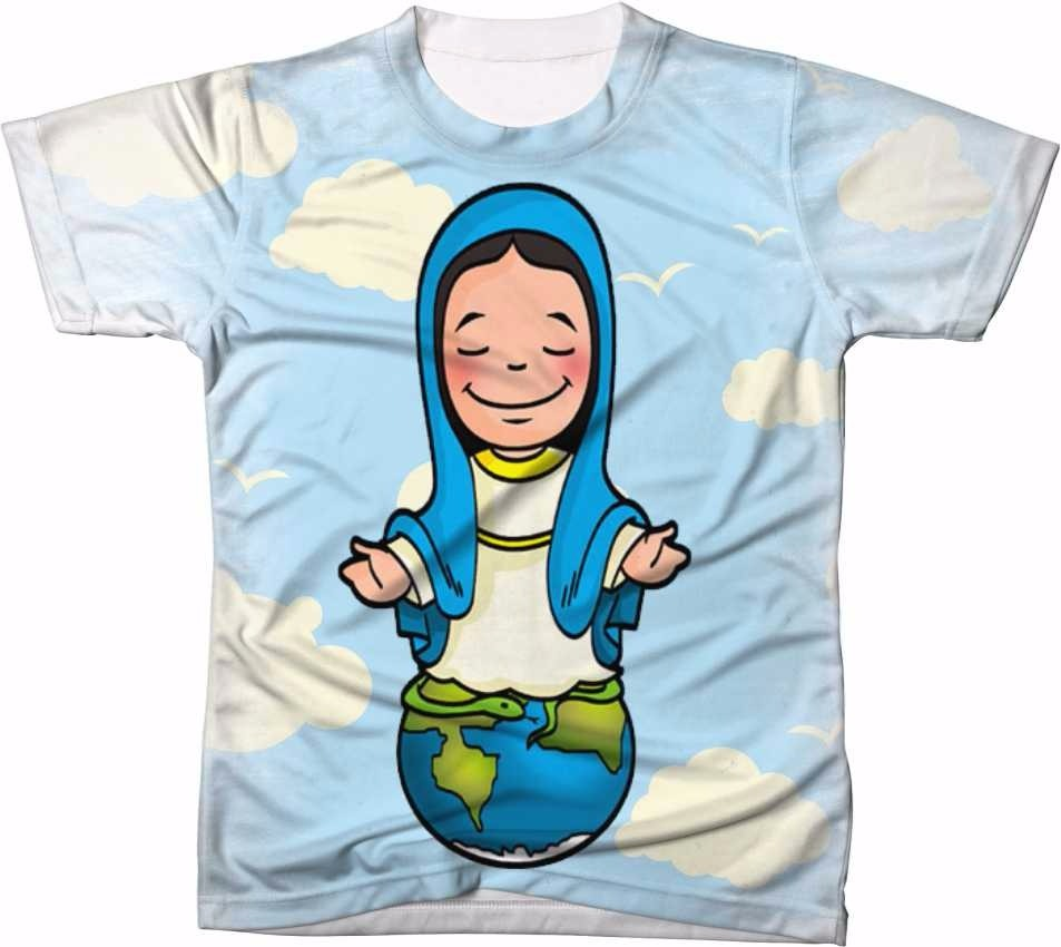 Camisa Camiseta Personalizada Nossa Senhora Das Gracas Desen R