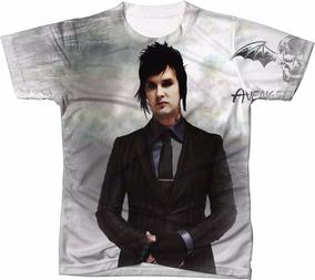 1f2a2574a1 Camiseta Avenged Sevenfold - Camisetas Curta com o Melhores Preços no Mercado  Livre Brasil