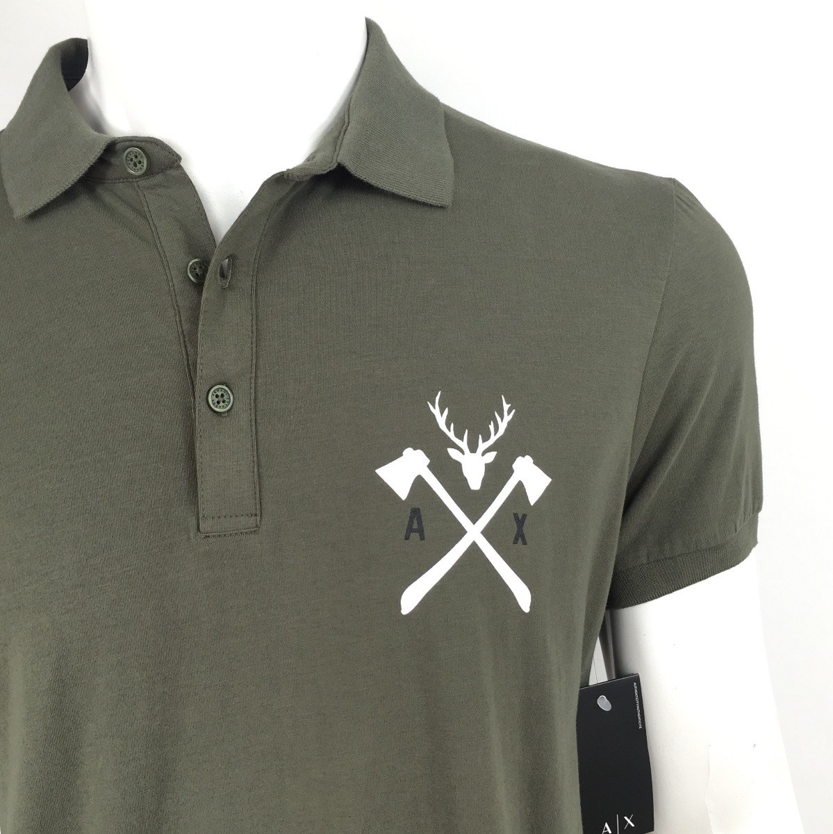 3a9f15589 camisa camiseta polo armani exchange original importada g. Carregando zoom.