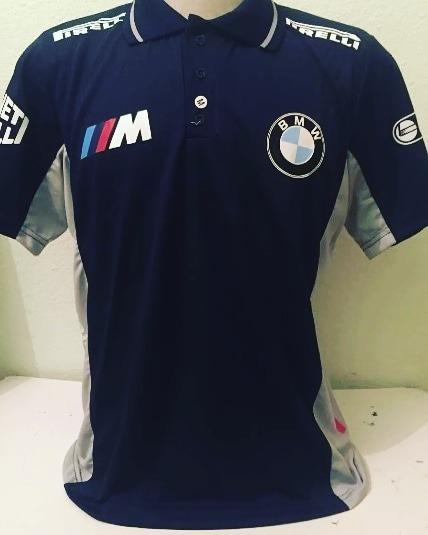Camisa Camiseta Polo Bmw Formula 1 F1 - R  120 bebdbb2cdad09