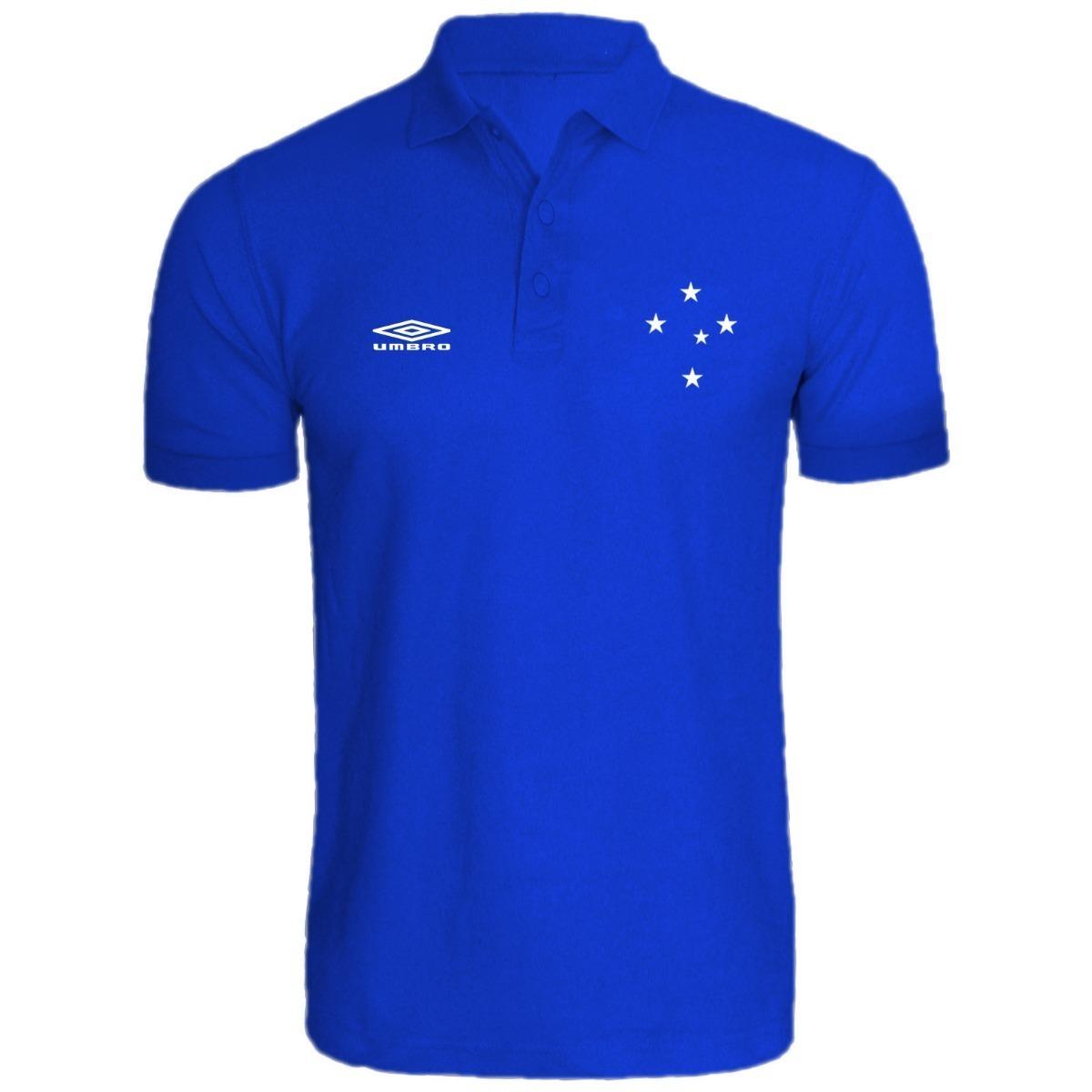 5214f0d39f Camisa Camiseta Polo Cruzeiro Fc Lançamento - R  45