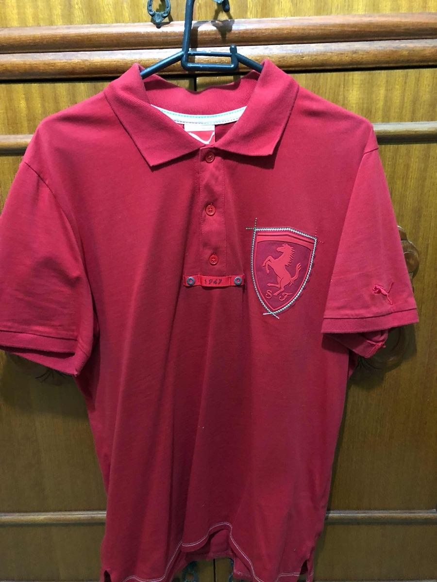 dbb6c680c4 camisa camiseta polo ferrari oficial puma original. Carregando zoom.