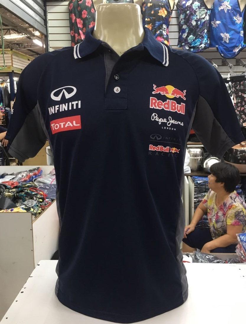camisa camiseta polo formula 1 f1 red bull corrida. Carregando zoom. 5c6c5d4fb9b
