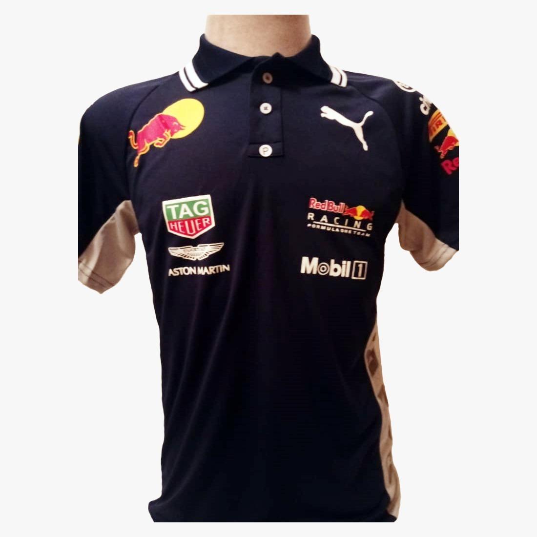 camisa camiseta polo formula 1 f1 red bull corrida. Carregando zoom. c350a85f8d3