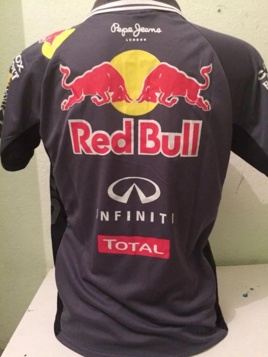 5d06a5b194540 camisa camiseta polo formula 1 f1 red bull corrida cinza. Carregando zoom.