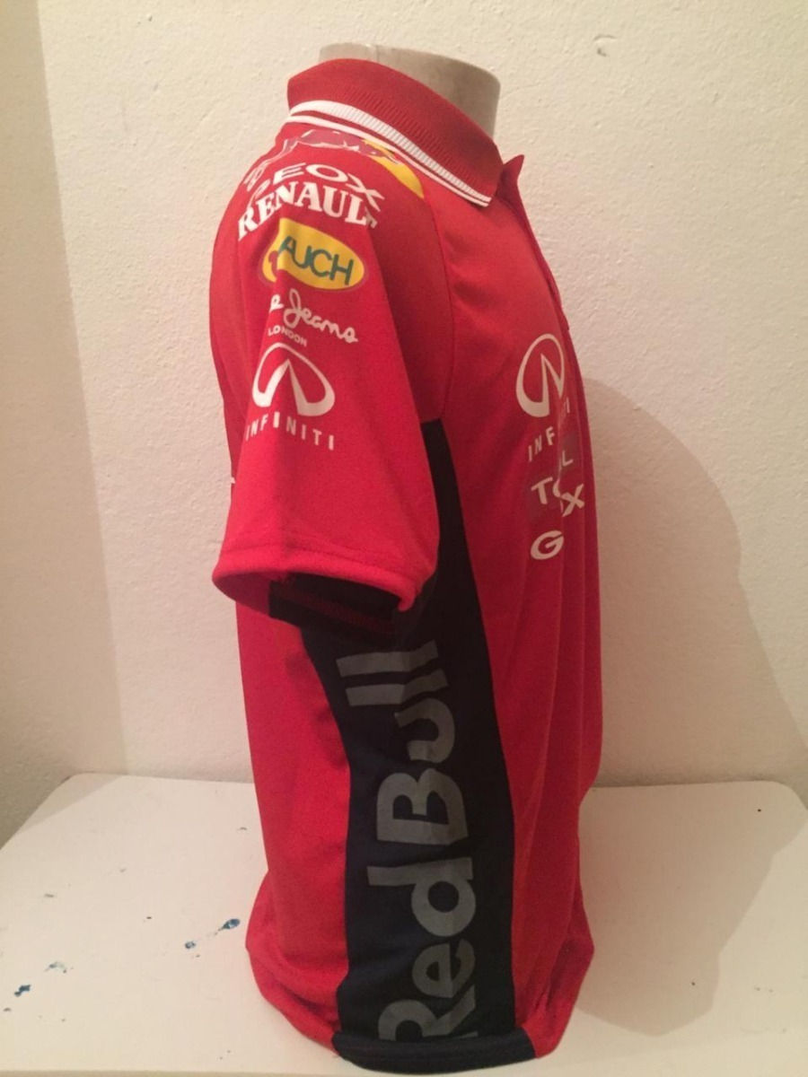camisa camiseta polo formula 1 f1 red bull corrida vermelha. Carregando  zoom. de41bbca372
