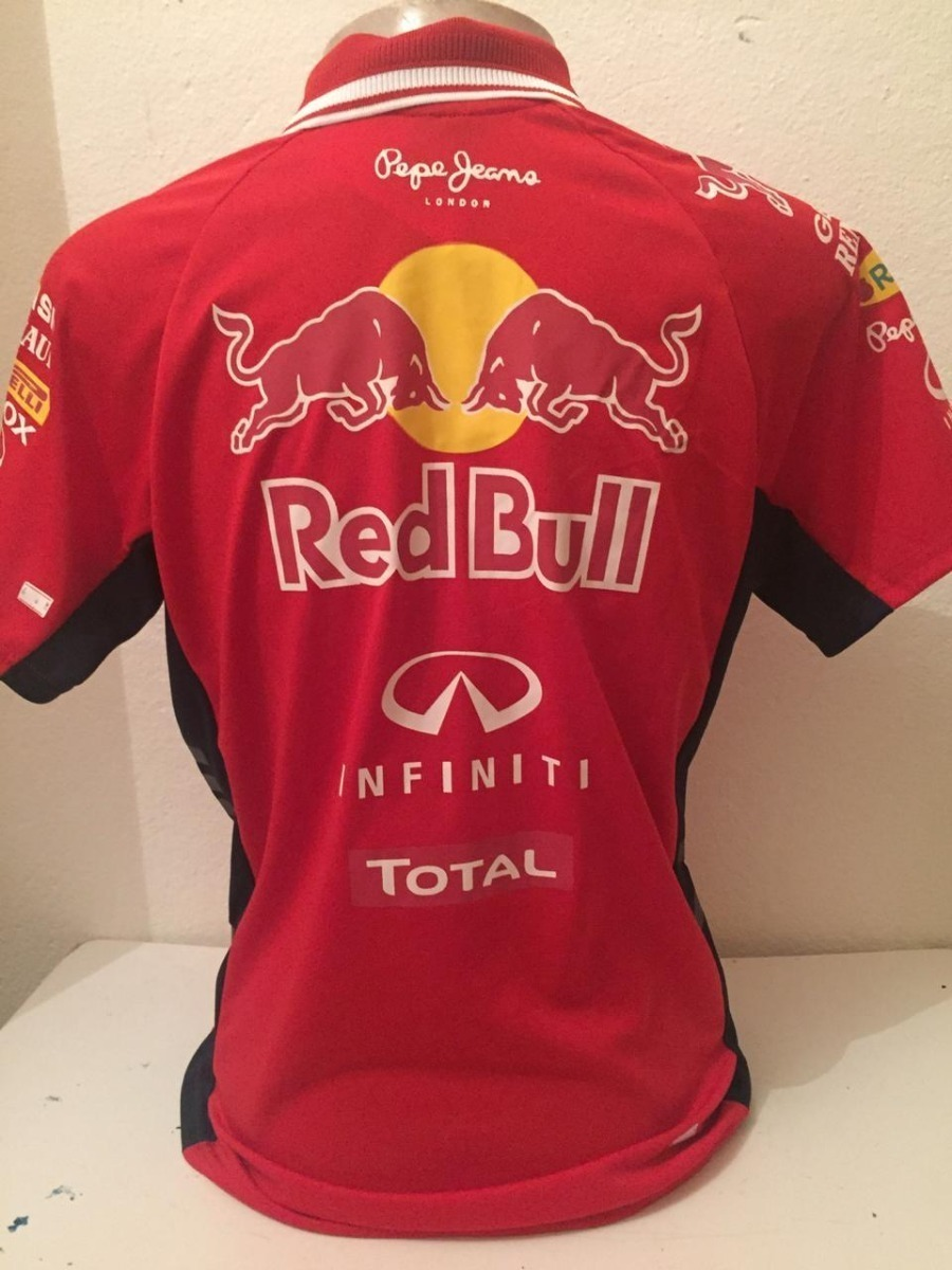 camisa camiseta polo formula 1 f1 red bull corrida vermelha. Carregando  zoom. 3ba285e9e40