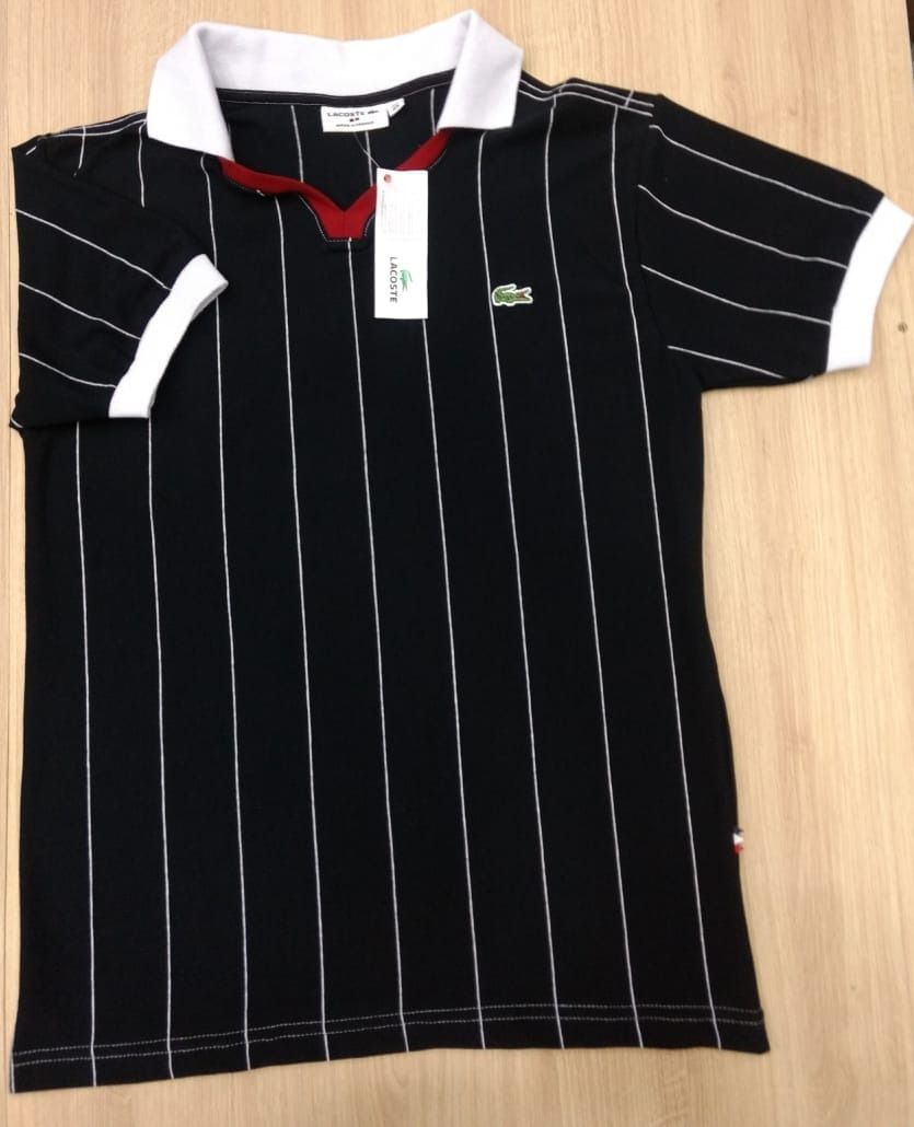 ee01a2fe66d4a Camisa Camiseta Polo Lacoste 3d Capela Peruana Promoção 24h - R  95 ...