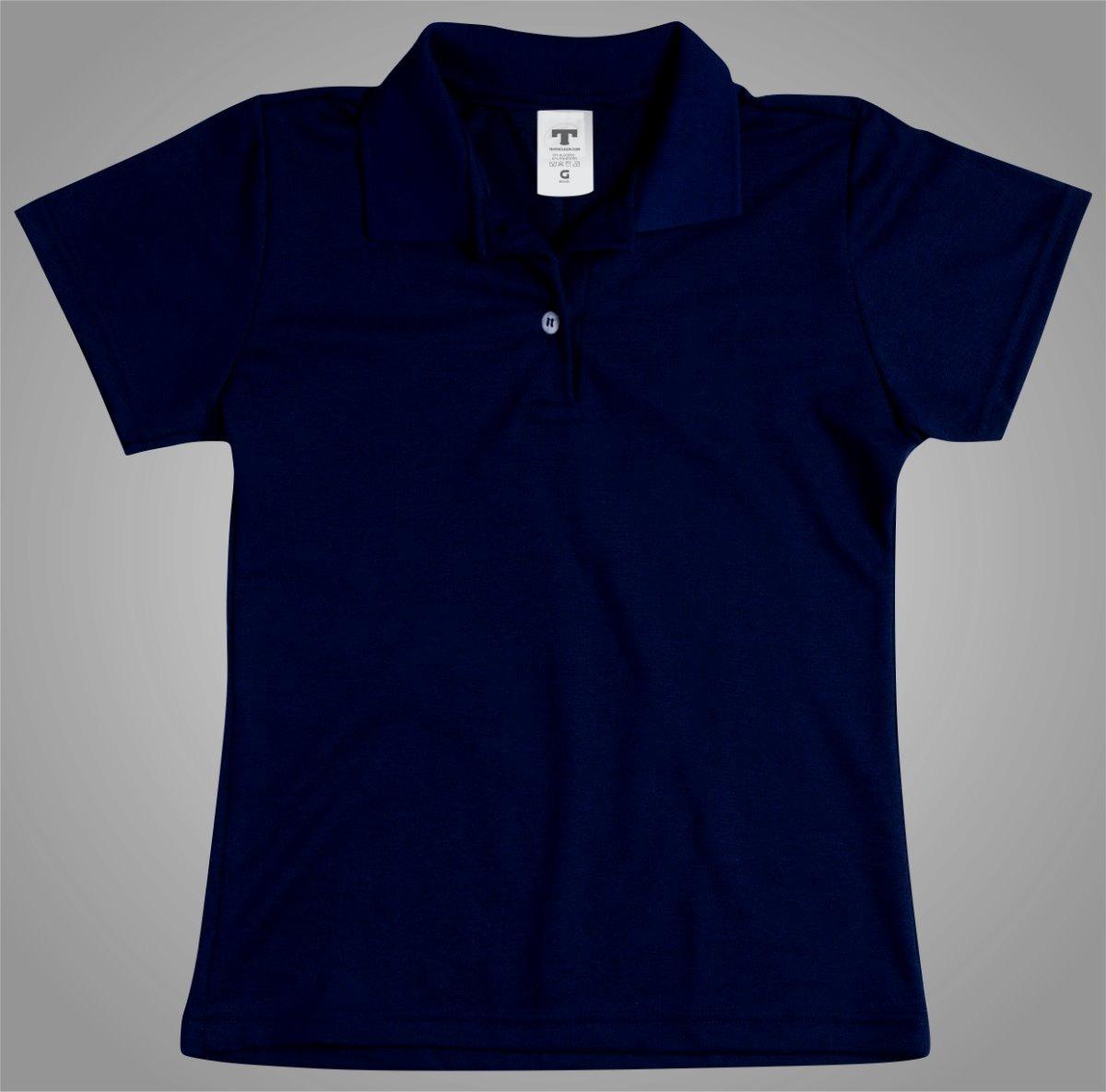 camisa camiseta polo lisa azul marinho ou vermelho. Carregando zoom. 9f0e0b0d96413