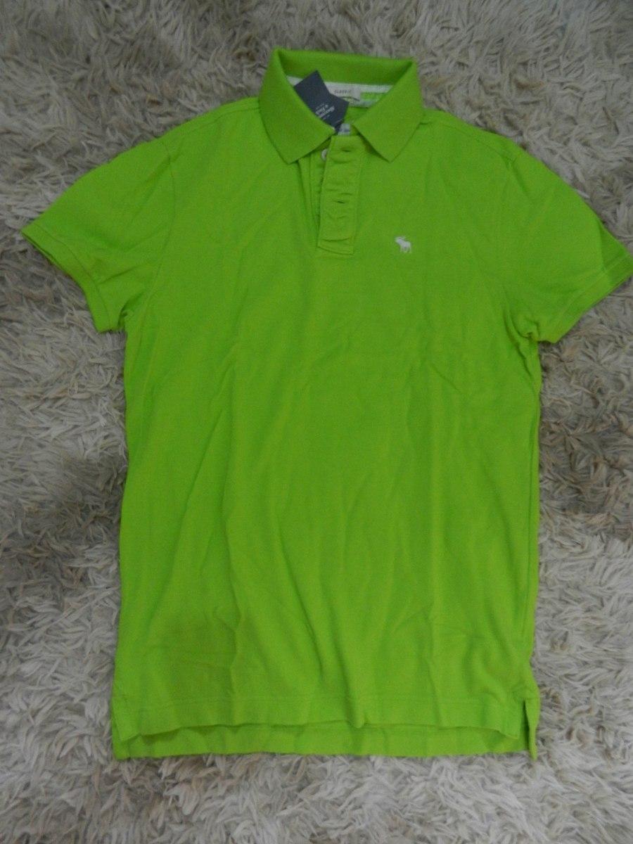 fb8e1b186b camisa camiseta polo masculina abercrombie   fitch original. Carregando  zoom.