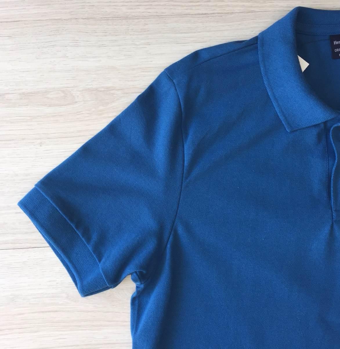 camisa camiseta polo masculina hering em pique 100% algodão. Carregando zoom . 04d9e7d97a852