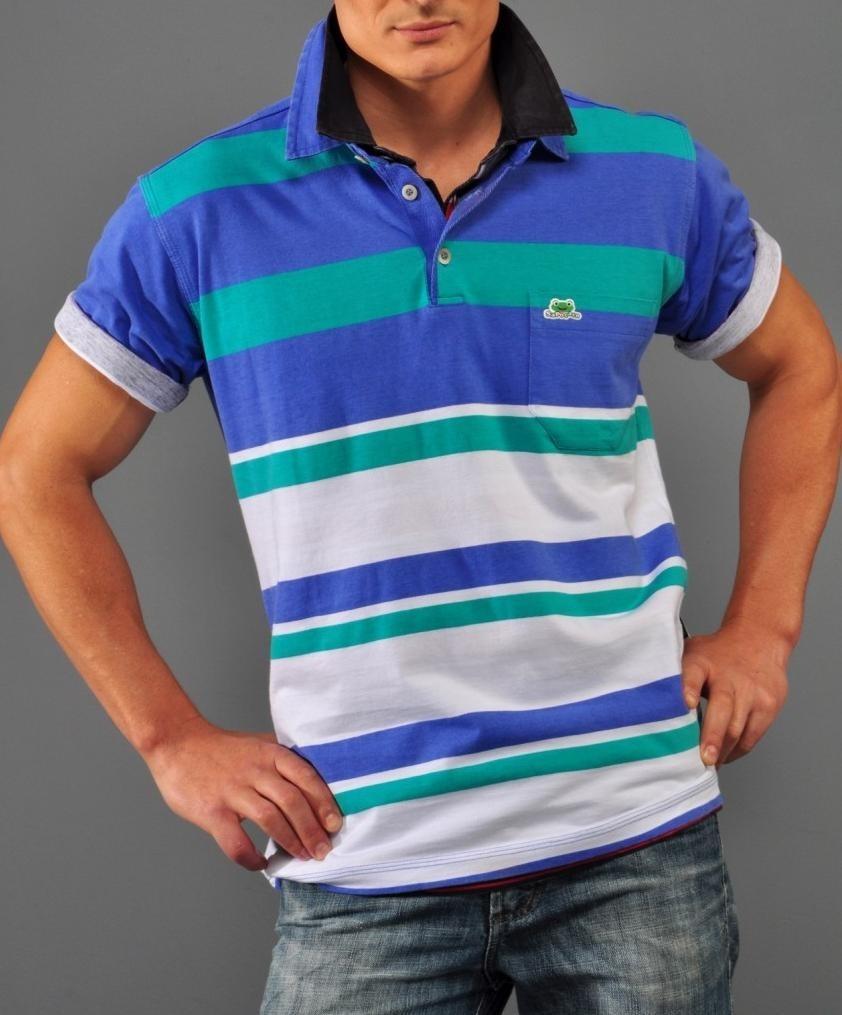 a9b1688b7e camisa camiseta polo masculina homens listrada sapocaco. Carregando zoom.
