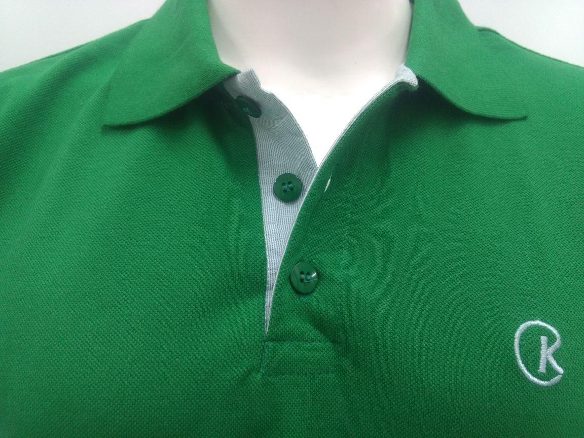 f2bbb3168019f camisa camiseta polo masculina verde brasil piquet cekock. Carregando zoom.
