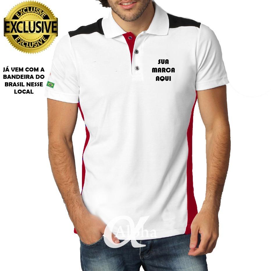 b9e069de5e camisa camiseta polo personalizada uniformes kit 4 peças. Carregando zoom.