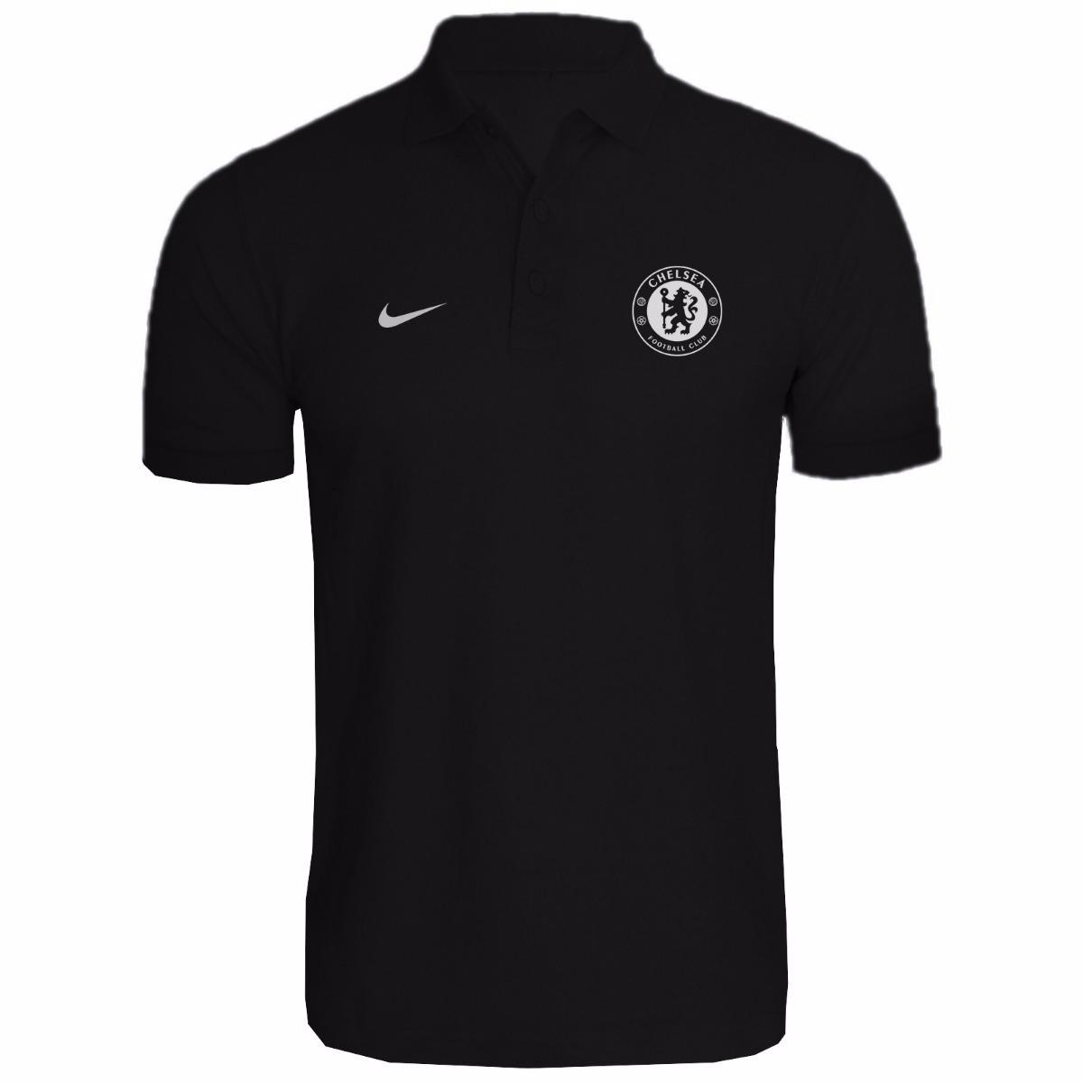 camisa camiseta polo torcedor chelsea fc lançamento 2018. Carregando zoom. ce4a0eef622b4