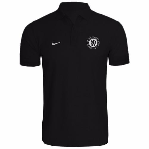 Camisa Camiseta Polo Torcedor Chelsea Fc Lançamento 2018 - R  45 fb9078d1179d7