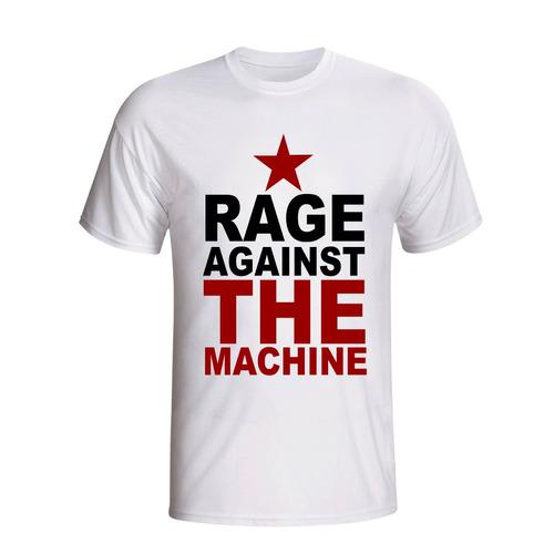 camisa camiseta rage against the machine banda rap metal