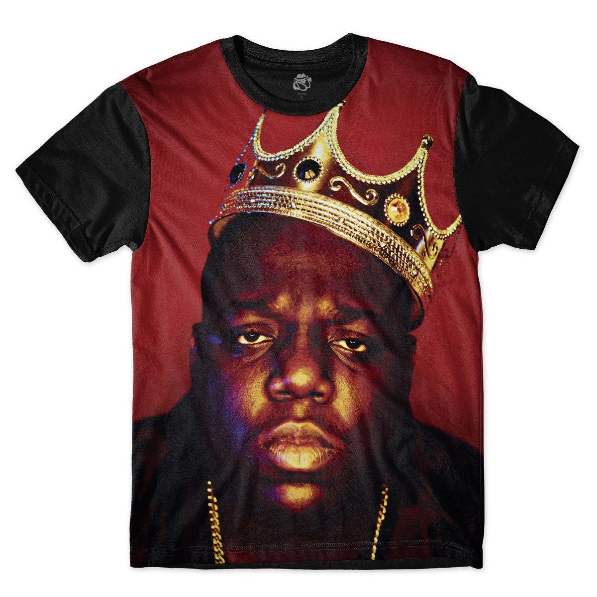 dfe5341c6 camisa camiseta rap hip hop rapper gangster notorious big. Carregando zoom.