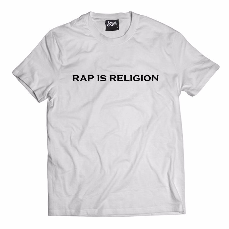 Camisa Camiseta Rap Is Religion Hip Hop Street Trap Music Ny - R  49 ... 808d5b16473