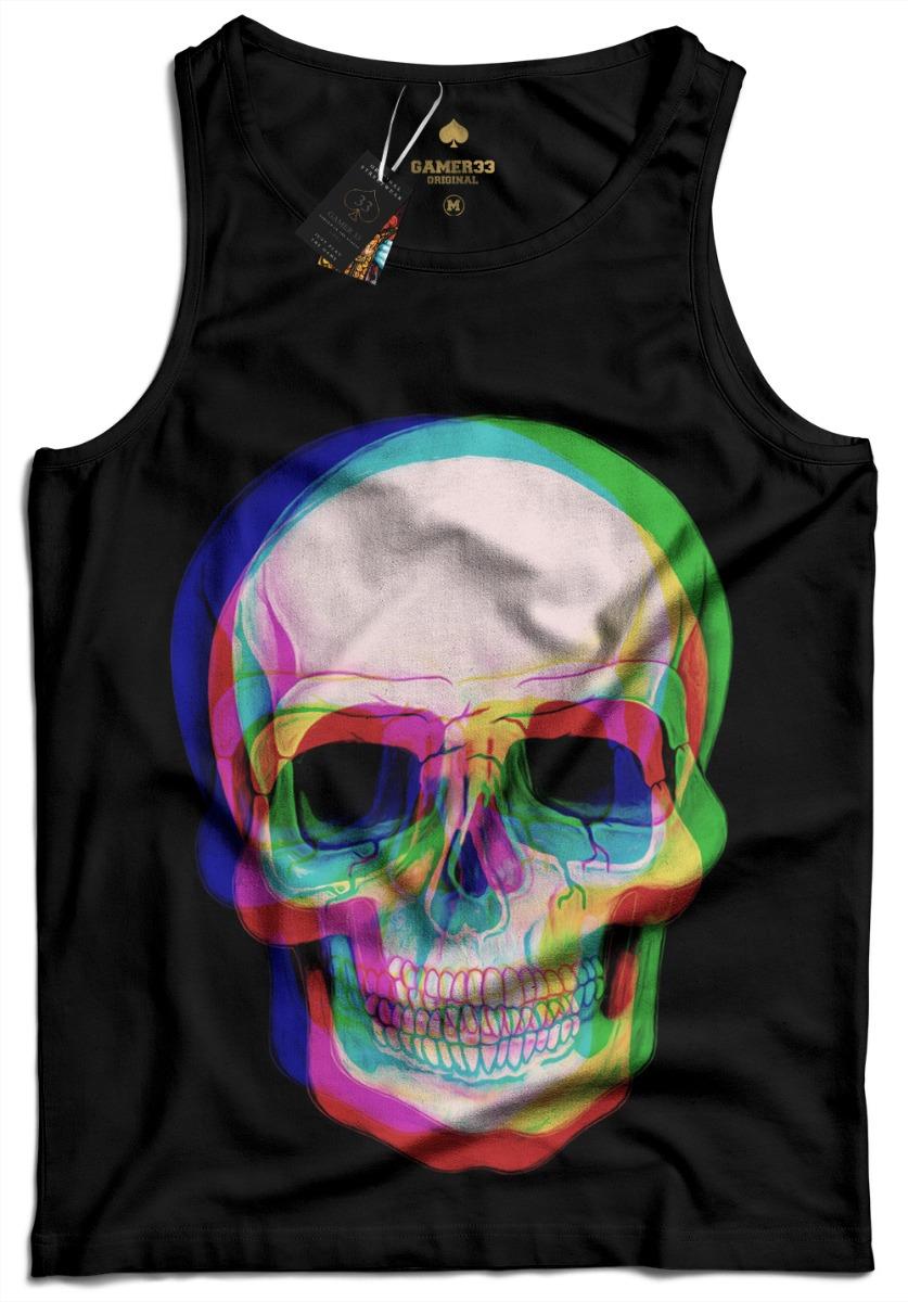274c07591 camisa camiseta regata balada caveira psicodelica gamer 33. Carregando zoom.