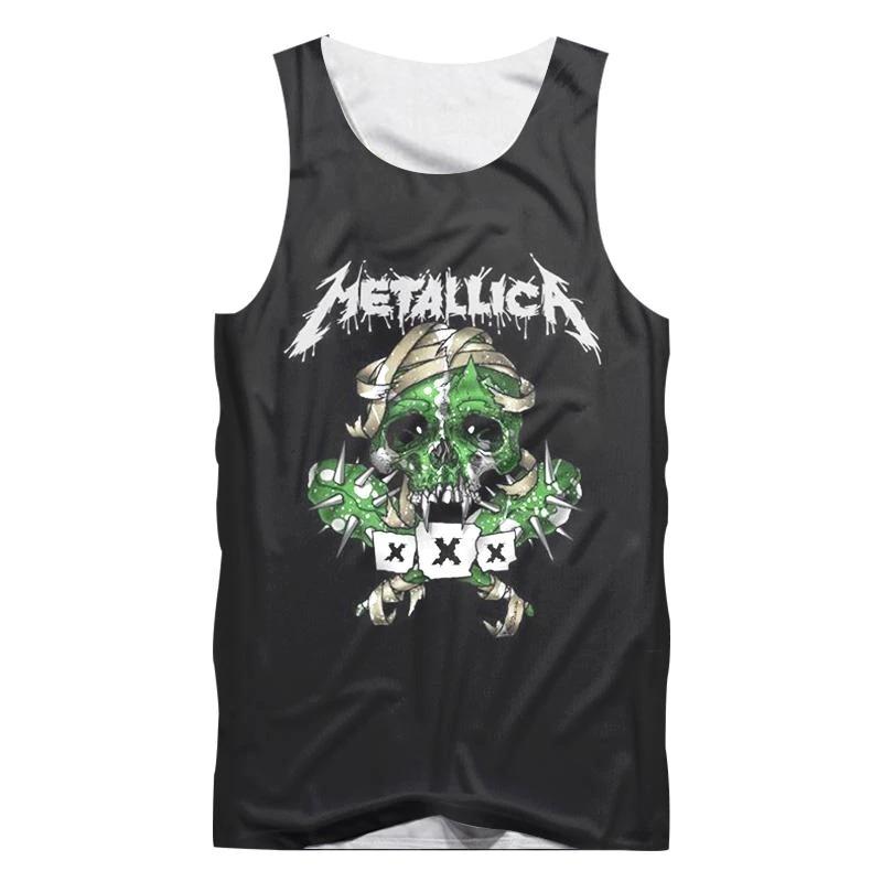 535e980b69bc3 camisa camiseta regata full 3d metallica rock caveira. Carregando zoom.