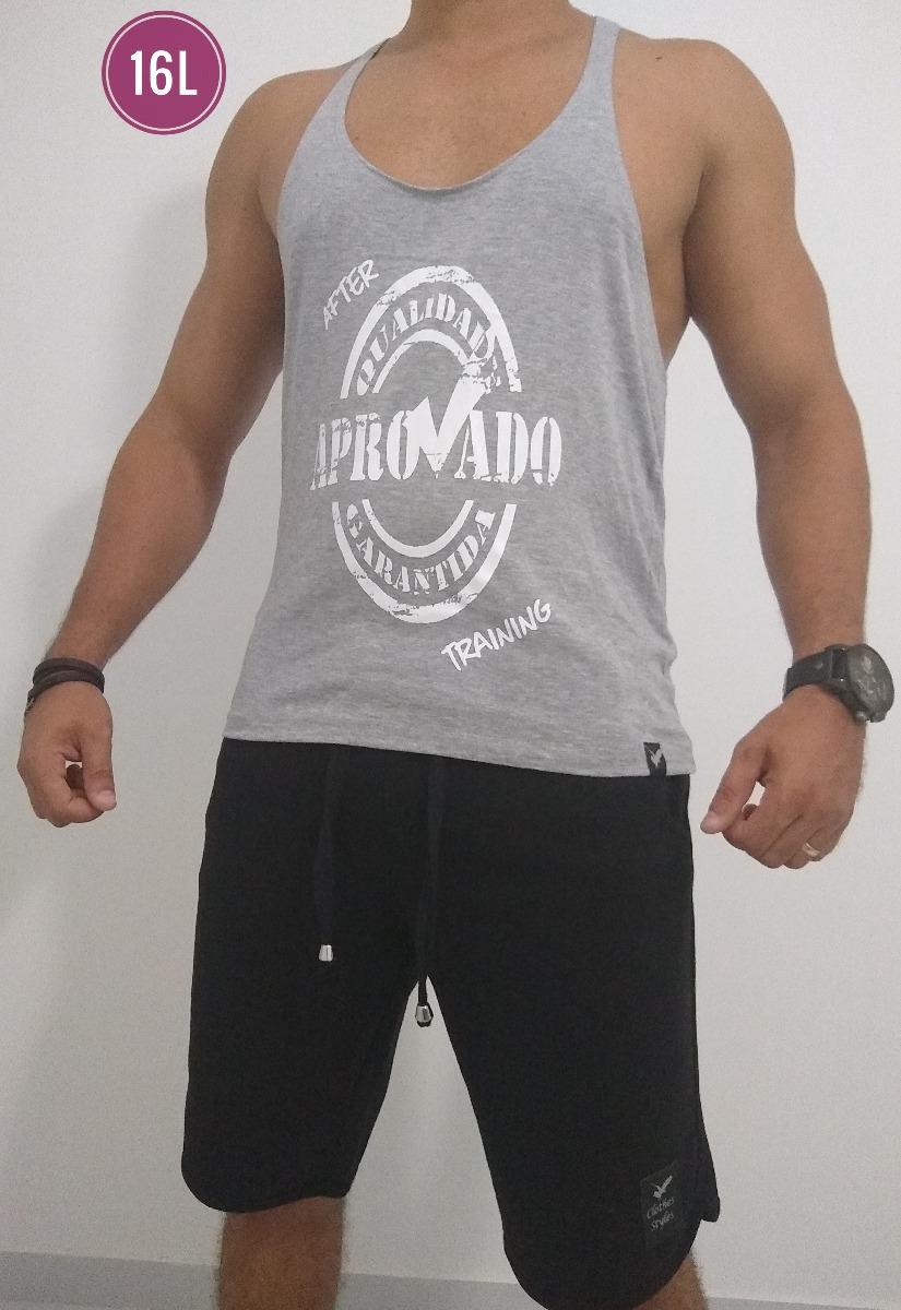 af50a99d33 camisa camiseta regata masculina cavada slim fitness remador. Carregando  zoom.