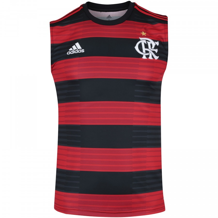 fe043eebeb05f camisa camiseta regata time futebol flamengo home 2018. Carregando zoom.